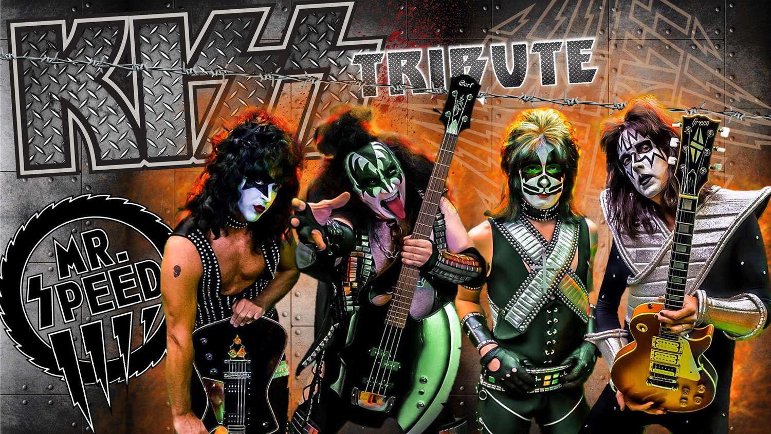 Mr. Speed - Kiss Tribute Band